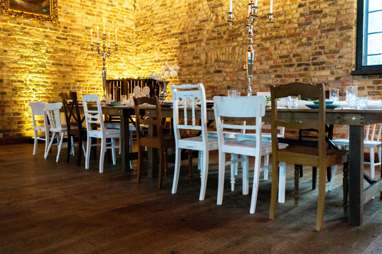 Holzstühle Hochzeit Feier mieten