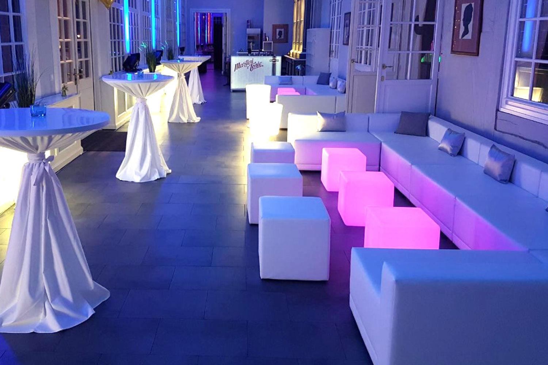 LED Lounge Hochzeit Feier mieten