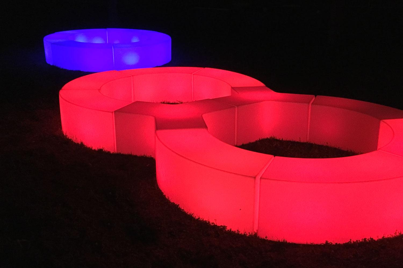 LED Möbel