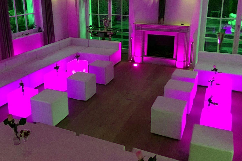 LED Style Lounge Hochzeit