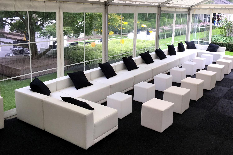 Lounge Gartenparty Zelt