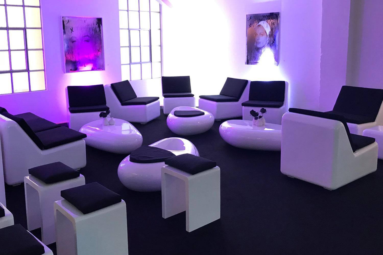 Lounge Hochzeitsfeier mieten
