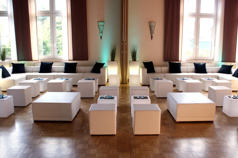 Lounge Landschaft Hochzeitsparty
