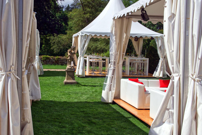 Outdoor Hochzeit Inspiration