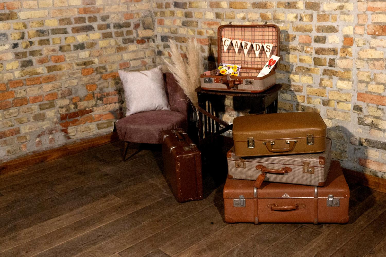 Vintage Koffer Dekoration
