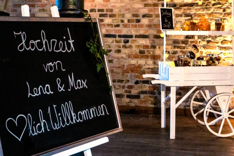 Staffelei Lippstadt mieten Hochzeit